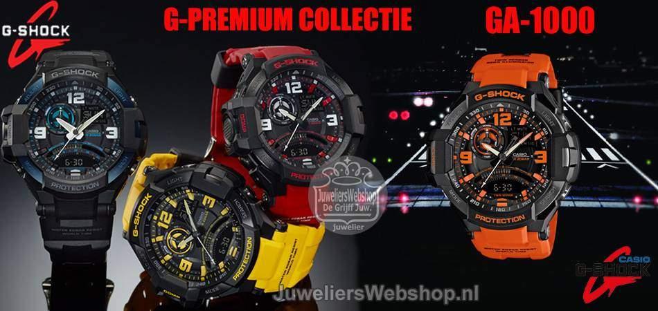 Casio G Shock horloge G-Premium GA-1000 Serie