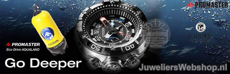 Citizen Promaster Aqualand Eco Drive duikhorloges