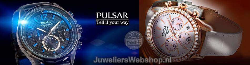 Pulsar horloges voor Dames en Heren. Pulsar Watches online.