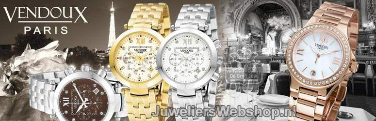 Vendoux Paris horloges voor dames