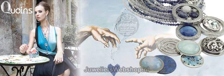 Quoins sieraden - Quoins Munten - Quoins kettingen - Quoins Hangers bij JuweliersWebshop.nl