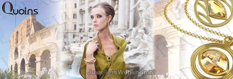 Quoins Sieraden - De Quoins Kettingen en Colliers zijn verkrijgbaar in vele modellen en kleuren.