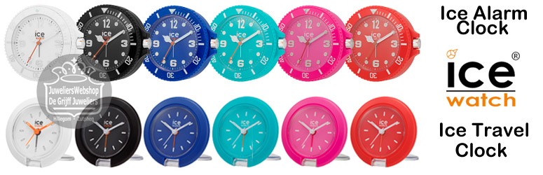 Ice-Watch- Ice Alarm Clocks - Wekkers