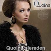 Quoins sieraden, bijpassende sieraden bij muntenhangers.