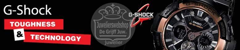 Casio G-Shock horloges bij JuweliersWebshop.nl - Officieel Casio TREND dealer.
