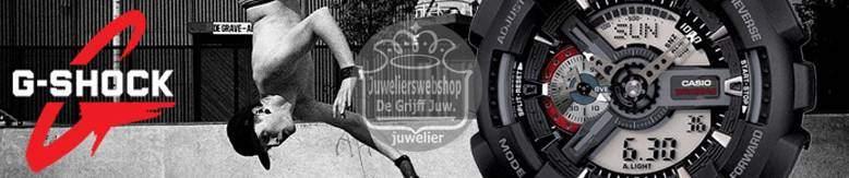 Casio G-Shock horloges - Vele Special Editions bij JuweliersWebshop.nl - Officieel Casio TREND dealer.
