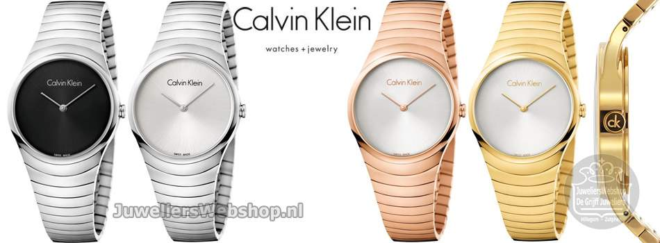 Calvin Klein Whirl watches.