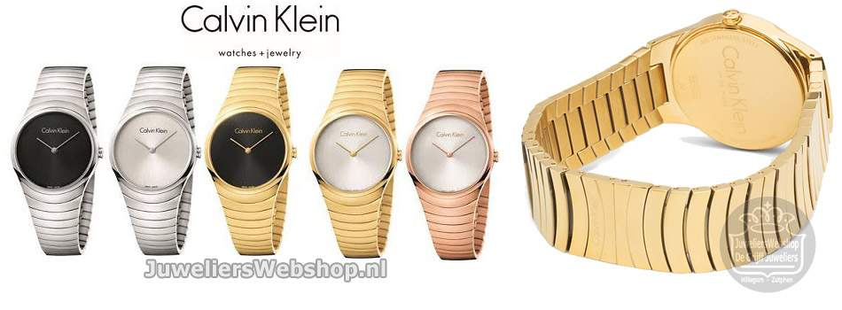 Calvin Klein Whirl watches.
