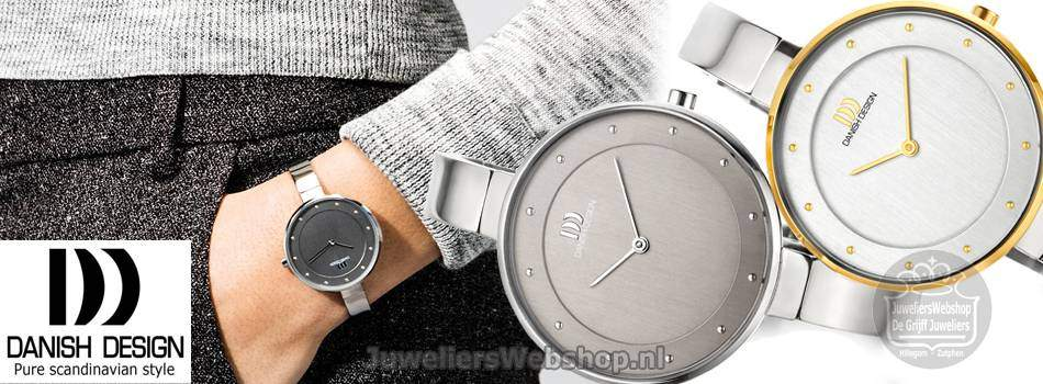 Danish Design titanium horloges dames.