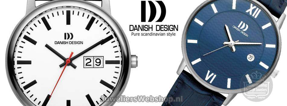 Danish Design Titanium horloges heren