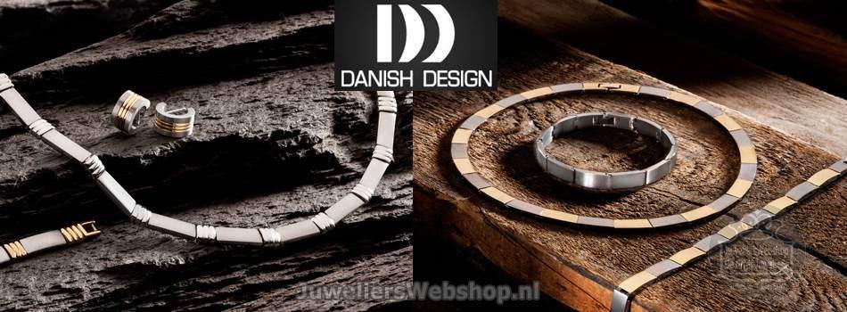 Danish Design sieraden titanium