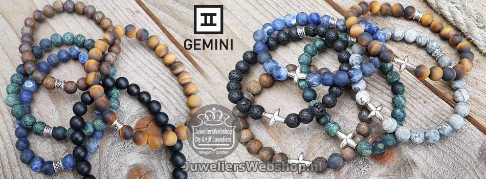 Gemini armbanden Mat