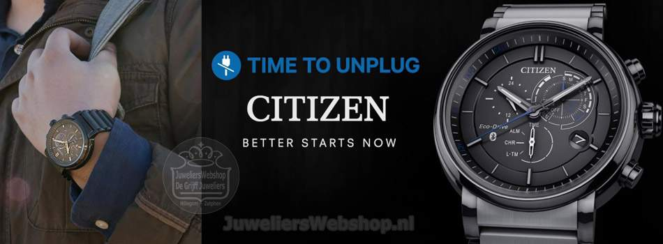 Citizen smartwatch proximity bluetooth