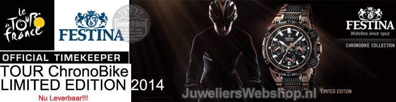 Festina horloges Tour de France - Chrono Bike 2014 -Limited-Edition