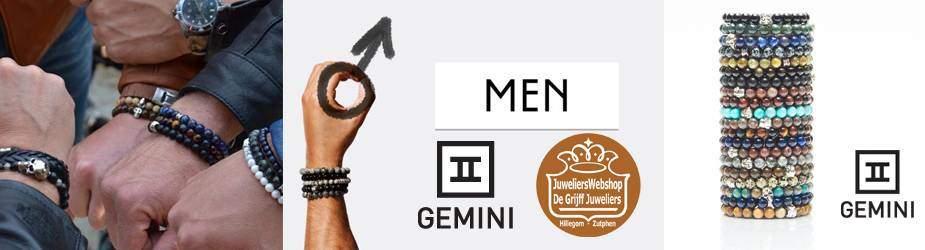 Gemini Bracelets armbanden heren