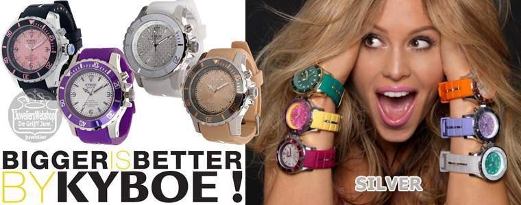 Kyboe silver series - KYBOE horloges
