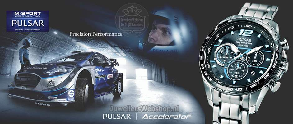 Pulsar horloges M-Sport Rally