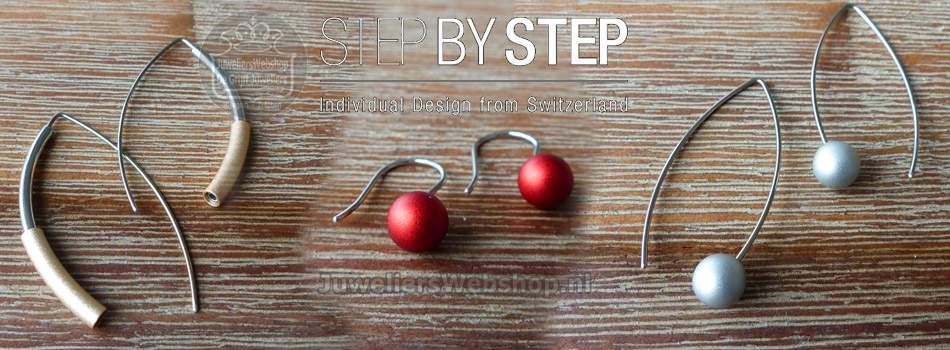 Step by Step oorbellen