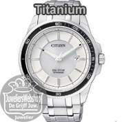 Citizen horloges Titanium Heren Eco-Drive.