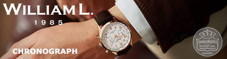 WilliamL 1985 horloges Chronograph