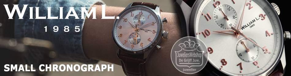WilliamL 1985 horloges SMALL CHRONOGRAPH