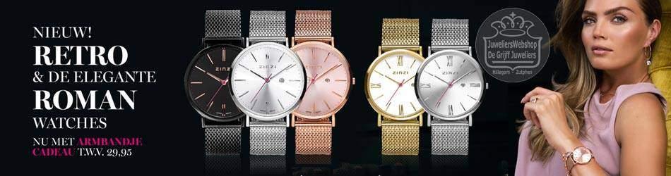 Zinzi Retro en Roman horloges