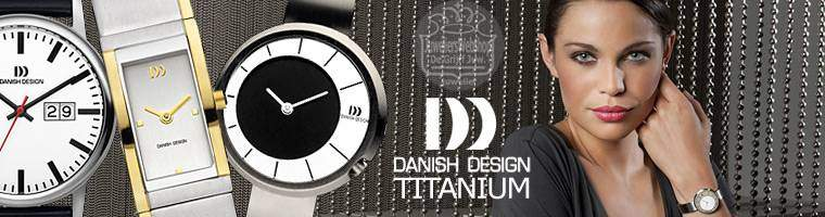 Danish Design horloges in Titanium voor dames en heren.