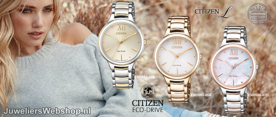 Citizen watches lady