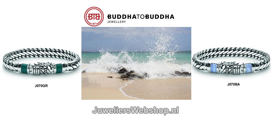 Buddha to Buddha Armband Ben XS Stone J070GR en J070GA