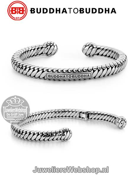 buddha-to-buddha-armband-227-ben-torque-heren-zilver