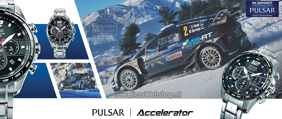 Pulsar watches Rally M-Sport