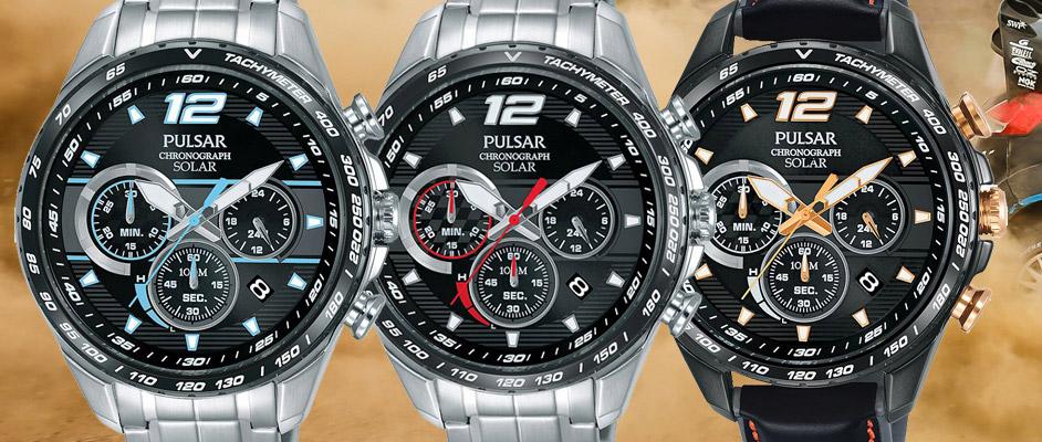 Pulsar Solar Rally horloges 2017 - 2018