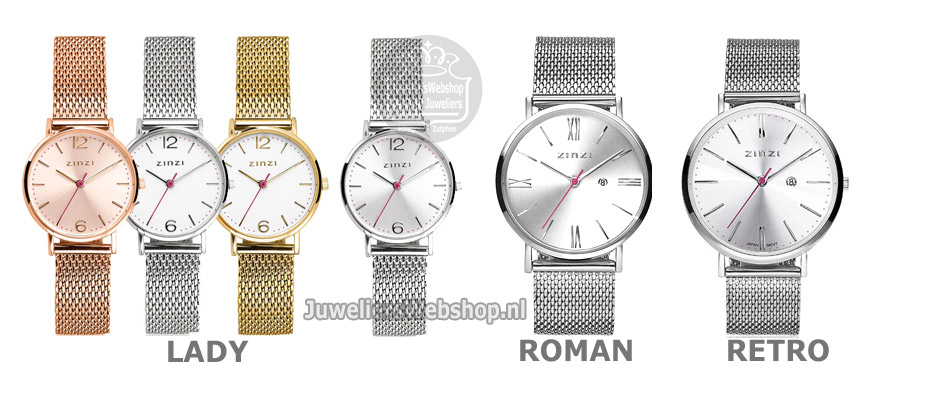 Zinzi horloges lady