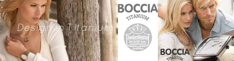 BOCCIA Titanium horloges dames - Boccia Watches online.