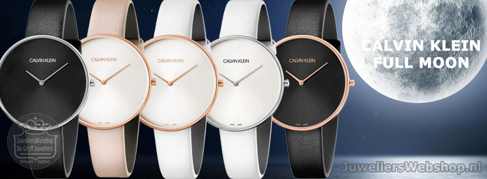 Calvin Klein CK Full Moon horloges