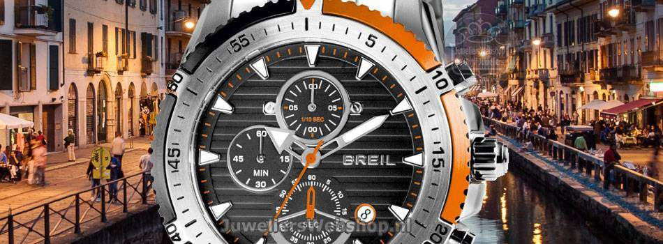 Breil Ground Edge horloges voor mannen