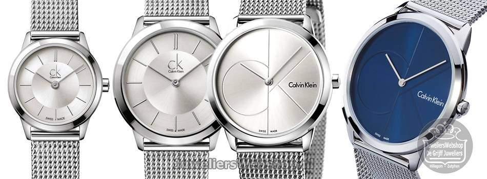 Calvin Klein CK Minimal dameshorloges.