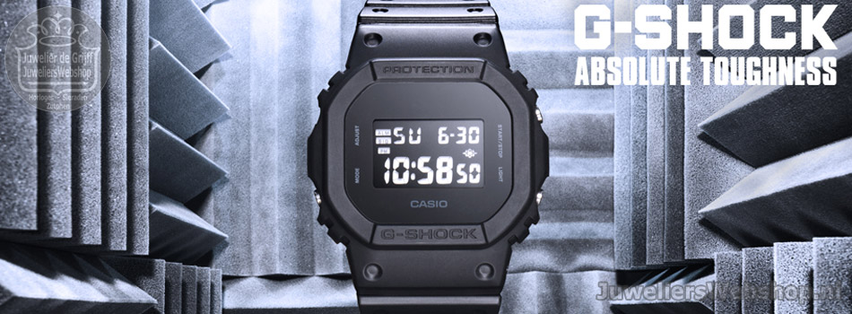 Casio G-Shock horloges - Officieel Casio TREND dealer.
