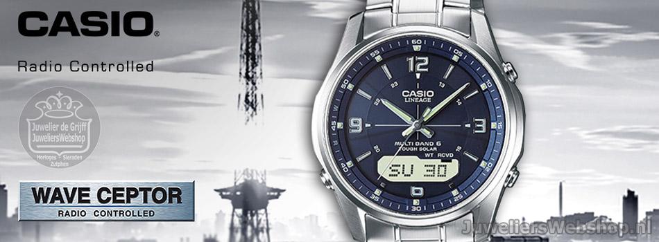 Casio Radio controlled - Wave Ceptor