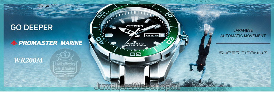 Citizen Promaster automaat horloges