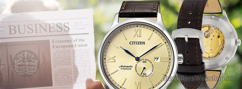 Citizen automaat horloges