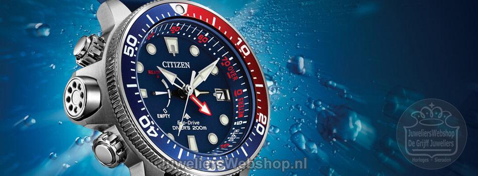 Citizen Promaster Diver - Aqualand Eco Drive duikhorloges