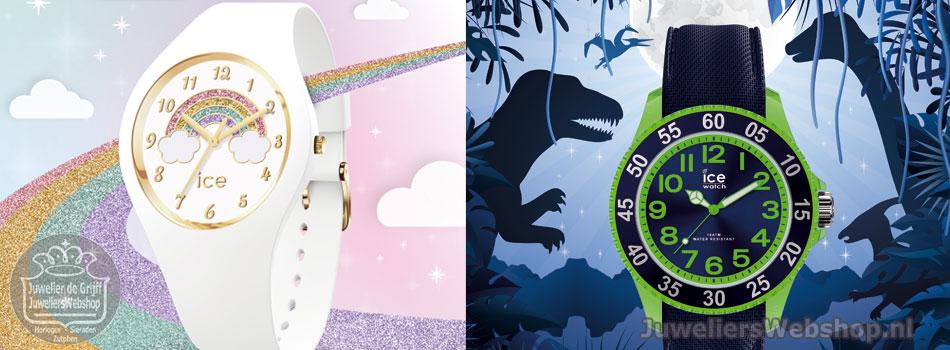 Ice-Mini Ice-Watch Horloges voor kinderen. Cartoon en Fantasia.