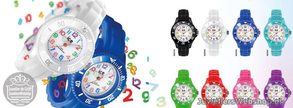 Ice-Mini Ice-Watch Horloges voor kinderen