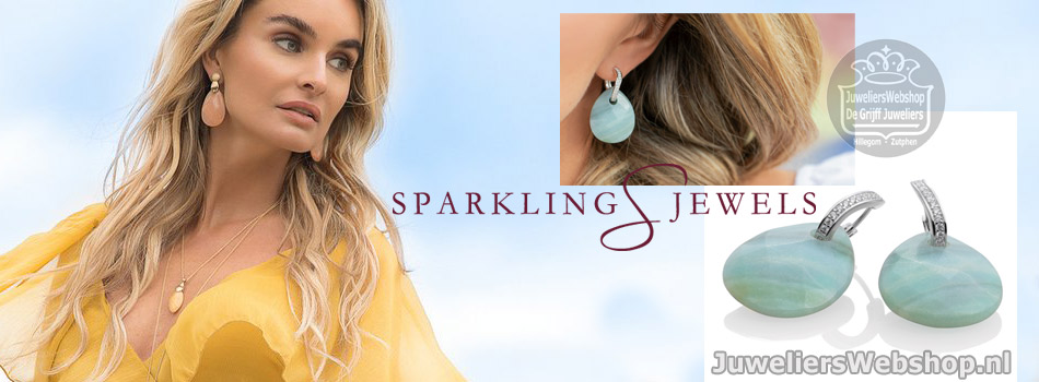 Sparkling Jewels oorbellen en earrings
