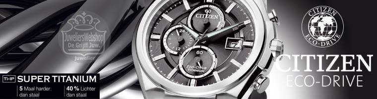 Citizen Super Titanium horloges - watches Eco-Drive