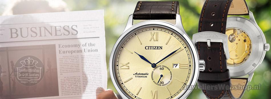 Citizen automaat horloges