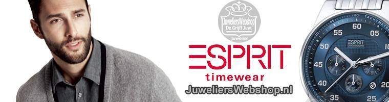 Esprit horloges Heren - Esprit Time Watches voor heren en stoere mannen.