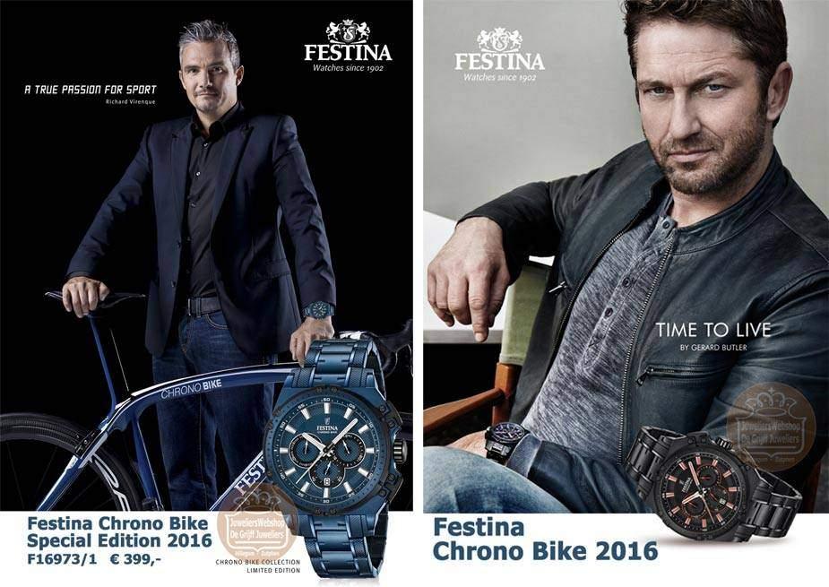 Festina Chrono Bike horloges 2016