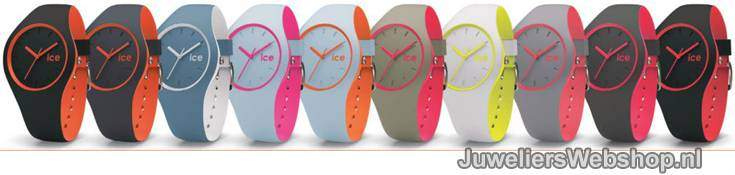 Ice Watch SILI Ice SHADOW horloges bij JuweliersWebshop.nl